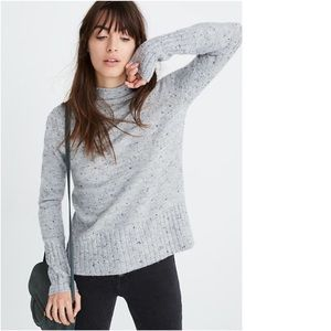 MADEWELL Coziest Inland Donegal Tweed Sweater XL